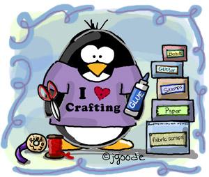 crafting penguin