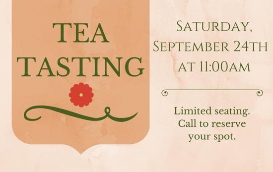 Tea Tasting Rotating Page