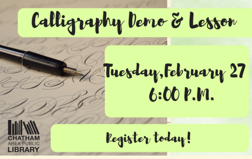 Calligraphy February 2018