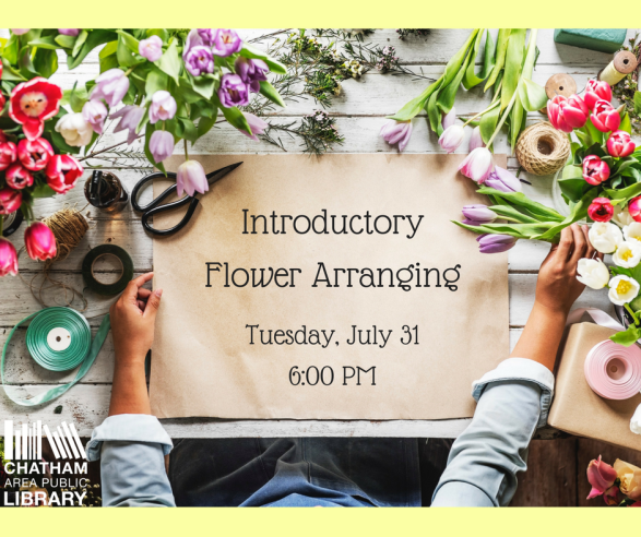 Flower Arranging July 2018